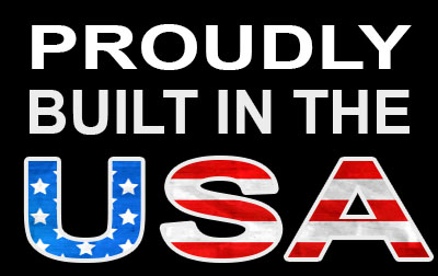 Proudly built in the USA