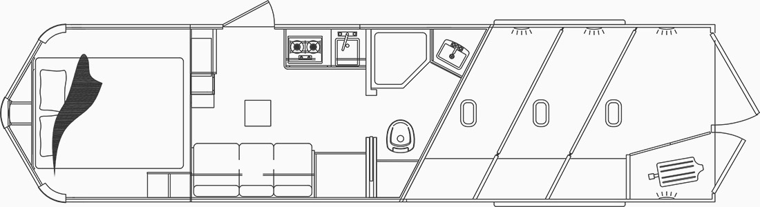 C8X9 6 cu.ft. fridge floorplan