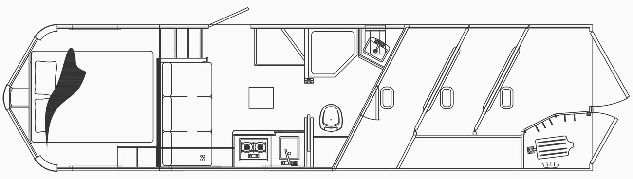 C8X9SR Floor Plan