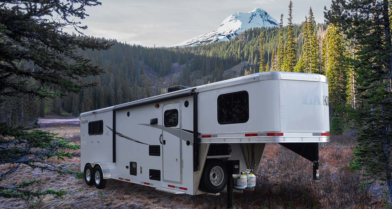 Lakota Colt Living Quarters Horse Trailer, yes you can afford it!