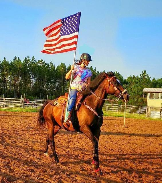 Chastity Hastings, Barrel Racing
