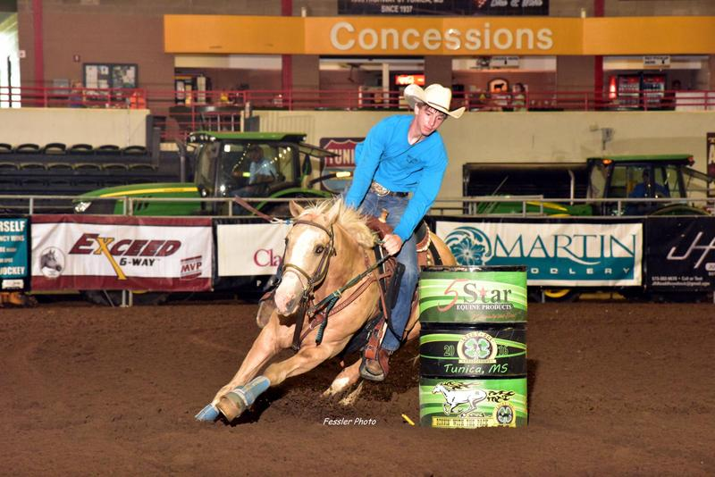 Cody Collins, Barrel Racing