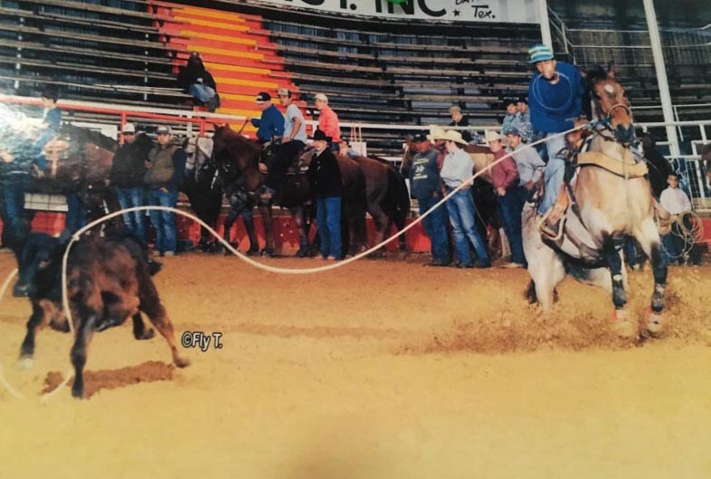 Colton Scott, Roping