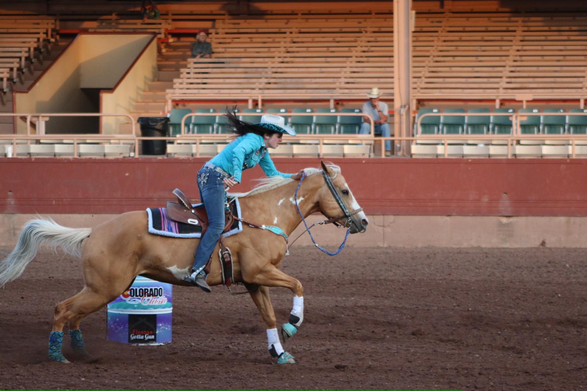 Jenna Petrohoy, Barrel Racing