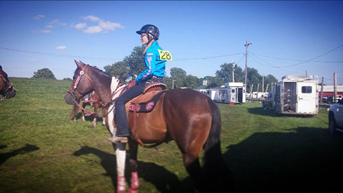 Katelyn McDaniel, Barrel Racing