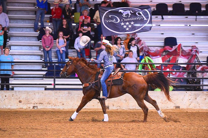 Mallory Moore, Barrel Racing