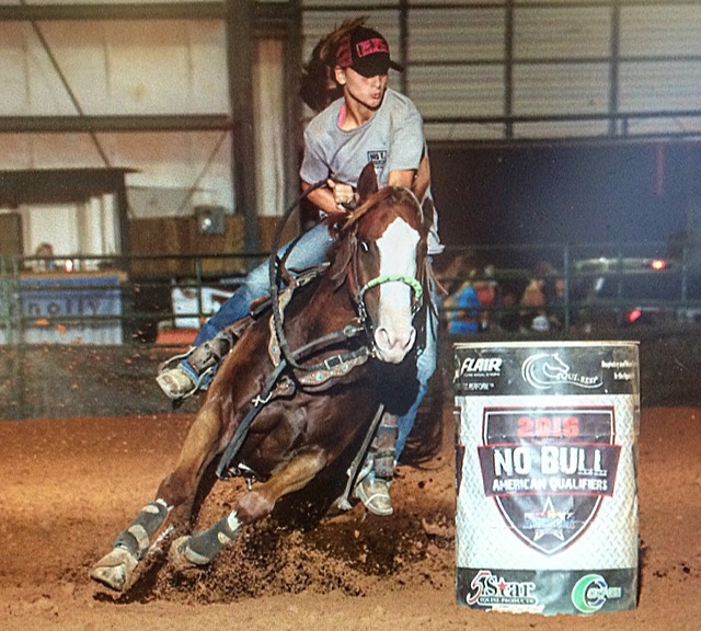 Payton Hughes, Barrel Racing