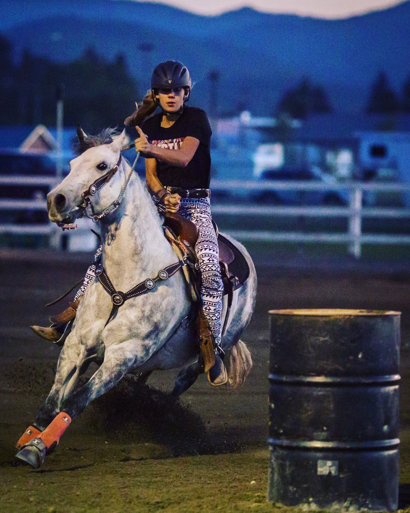 Roxanne Koler, Barrel Racing