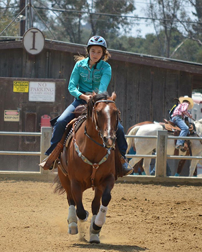 Alyssa Antoci, Barrel Racing