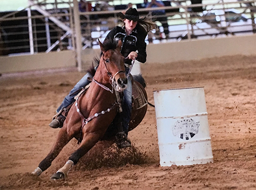 Brooke Pierce, Barrel Racing