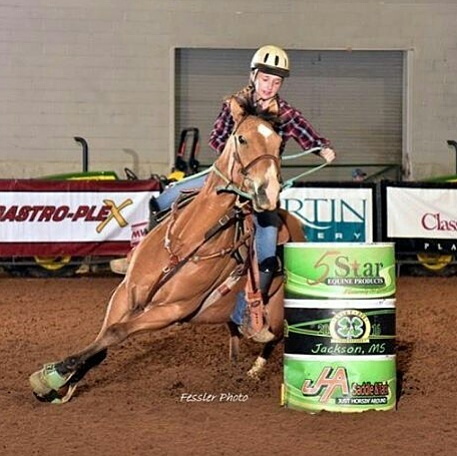 Brooklyn Self, Barrel Racing