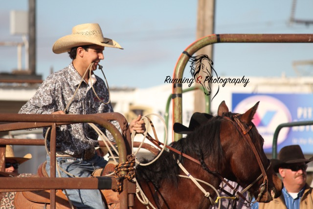 Chase Sievers, Roping