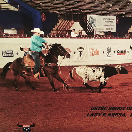 Dylan Jones, Roping
