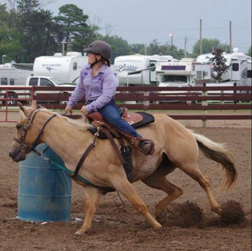 Kelsy Young, Barrel Racing