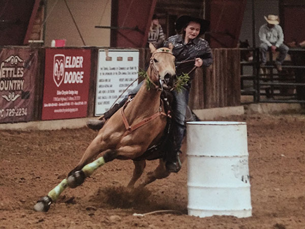 Morgan Elder, Barrel Racing