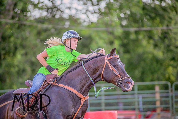Olivia Hesson, Barrel Racing