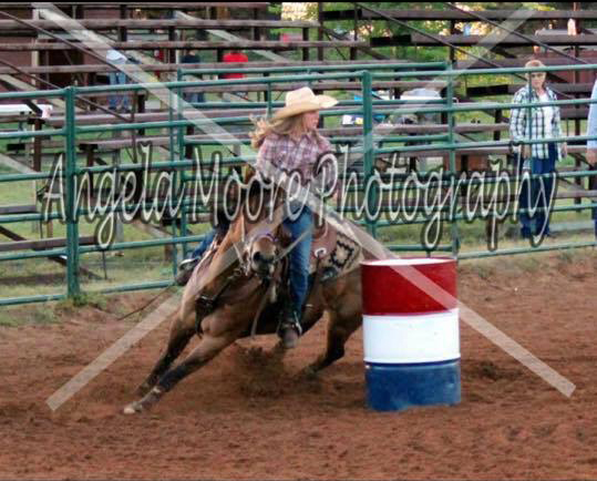 Shyann Bingham, Barrel Racing