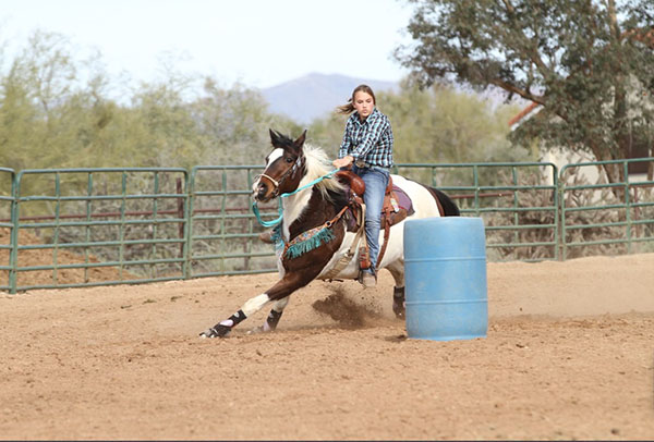 Tessa Lynch, Barrel Racing