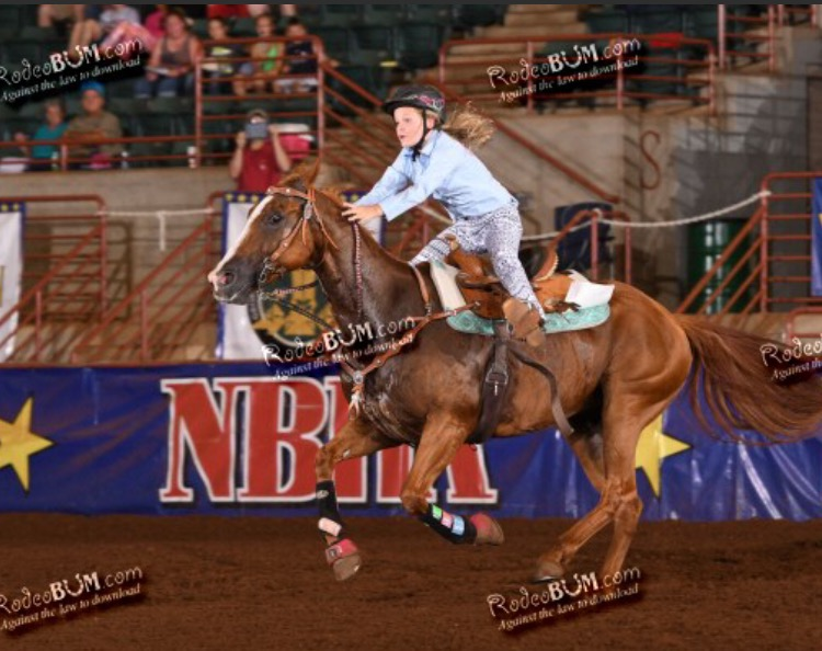 Megan Cramer, Barrel Racing