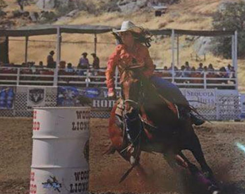 Alexis Ayello, Barrel Racing