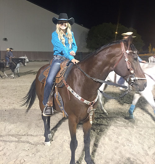 Alexis Jensen, Barrel Racing