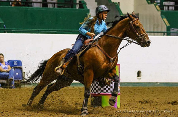 Alex Hoell, Barrel Racing