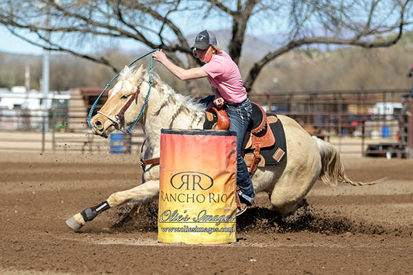 Amry Palmer, Barrel Racing