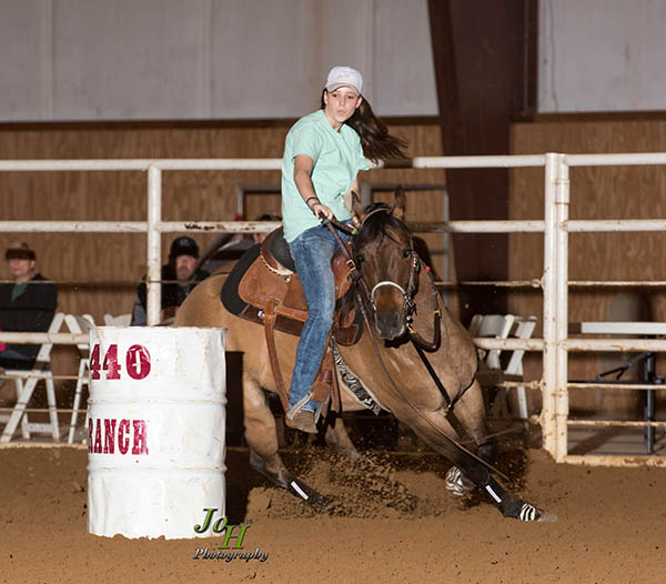 Annika Barry, Barrel Racing