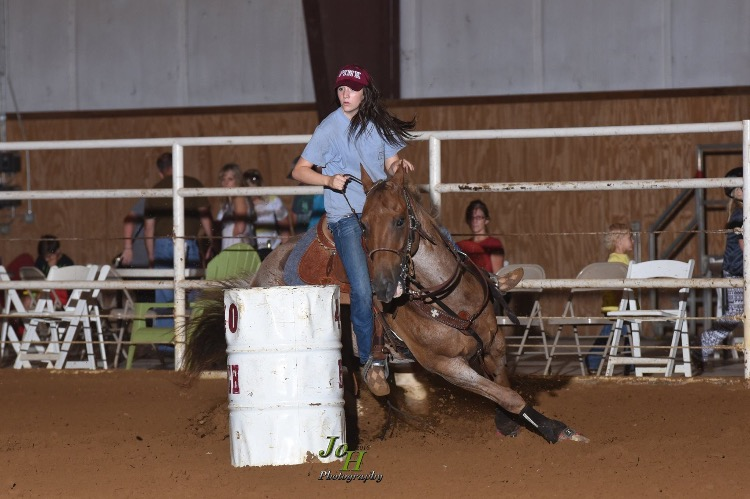 Audrey Chandler, Barrel Racing