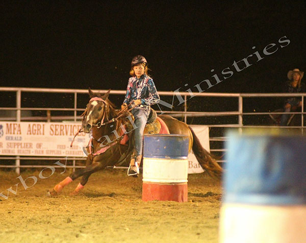 Brook Scheulen, Barrel Racing