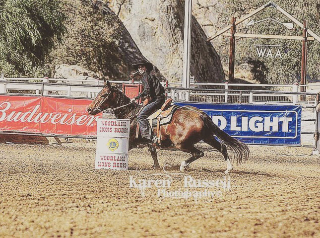 Danielle Morehouse, Barrel Racing