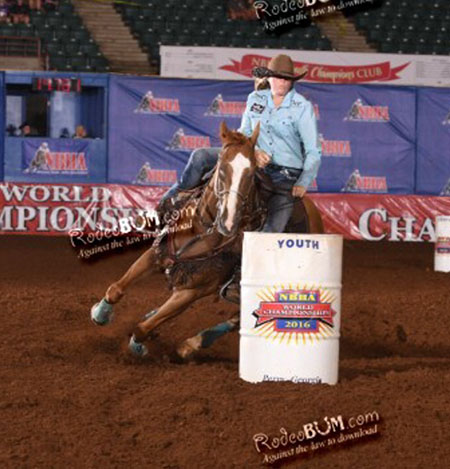 Emily Tomlinson, Barrel Racing