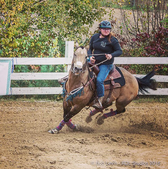 Erin Simard, Barrel Racing