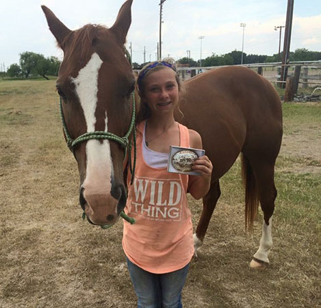 Hailey Johnston, Barrel Racing