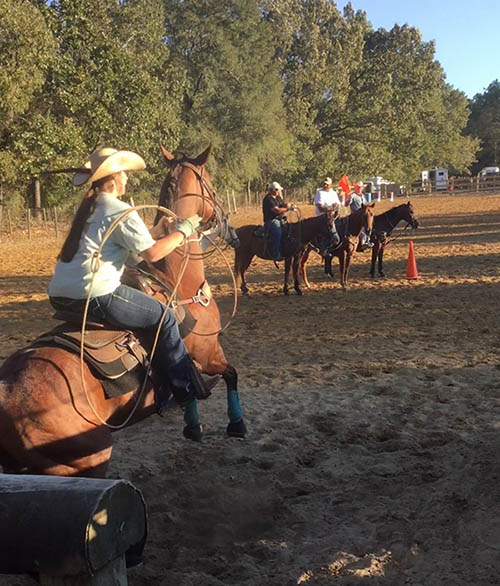 Jessica Andrews, Barrel Racing