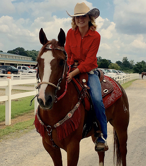 Kaitlyn Bailey, Barrel Racing