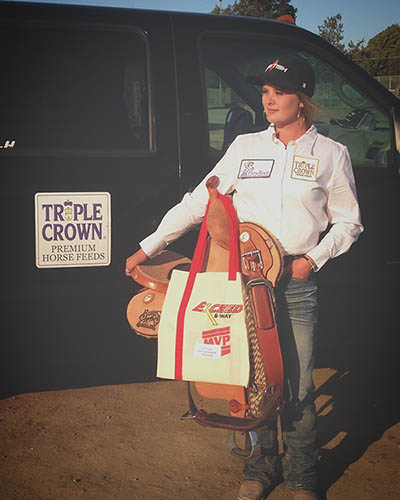Kaitlyn Lane, Barrel Racing