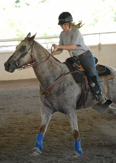 Kelli Hessenauer, Barrel Racing