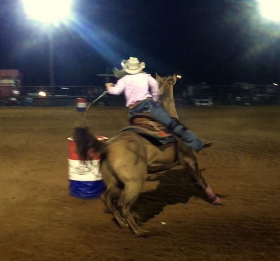 Kenzie Price, Barrel Racing