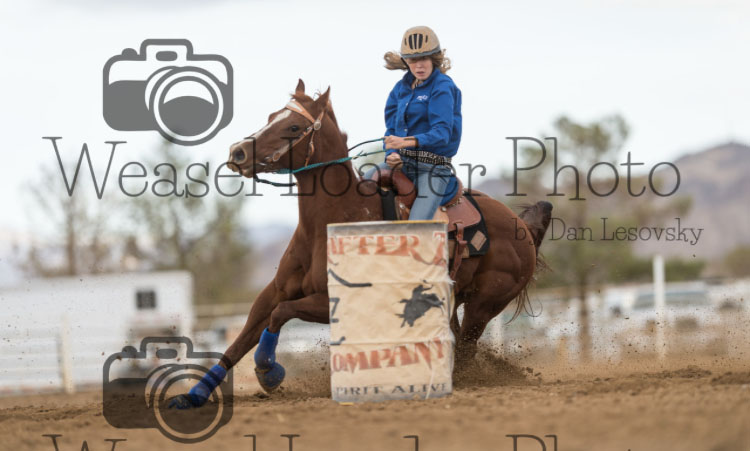 Kierstan Laplace, Barrel Racing