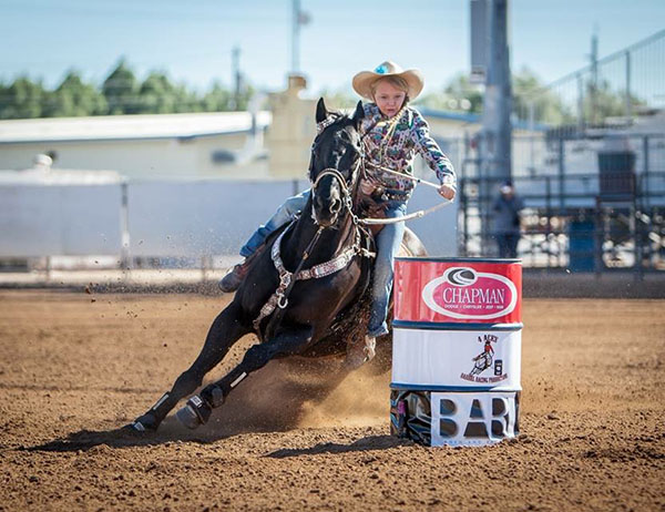 McKenna Reiter, Barrel Racing
