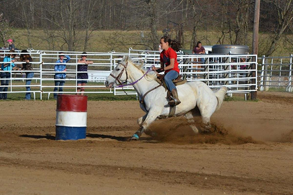 McKayla Feikert, Barrel Racing