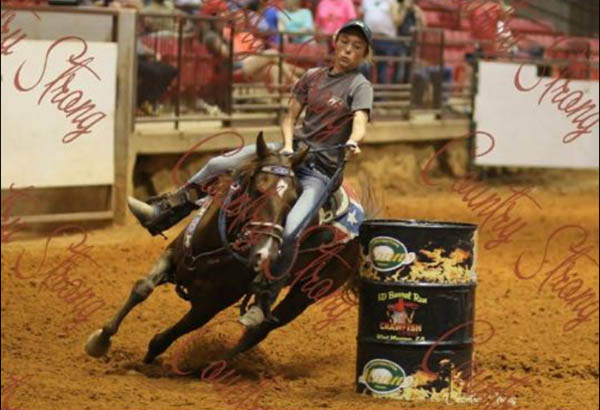 Meg Blanton, Barrel Racing