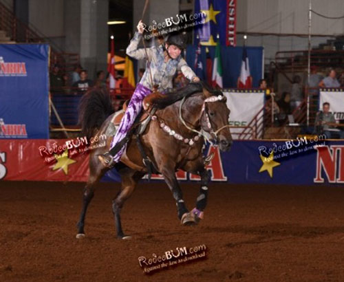 Michayla Schmitt, Barrel Racing