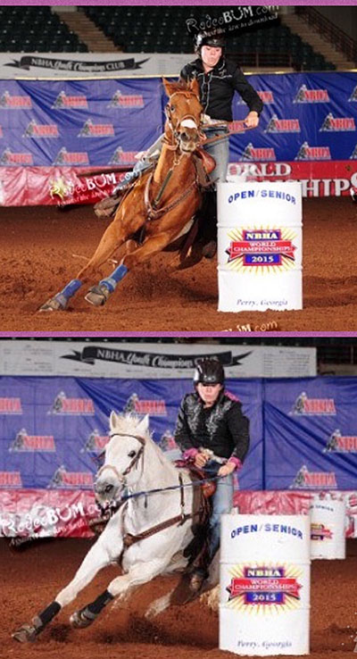 Rachel Dellena, Barrel Racing