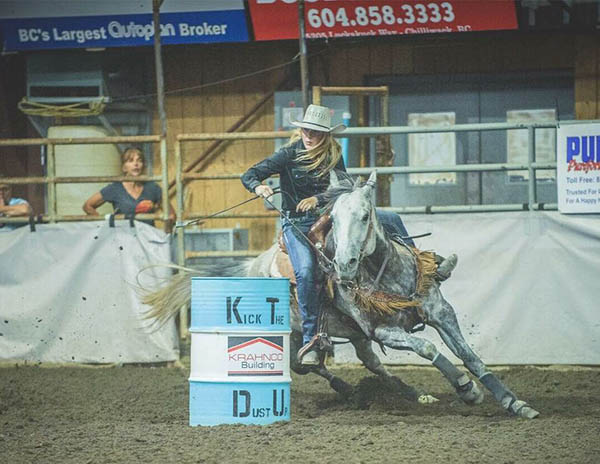 Sara Christmas, Barrel Racing