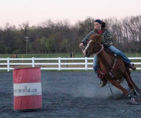 Tabitha Mann, Barrel Racing