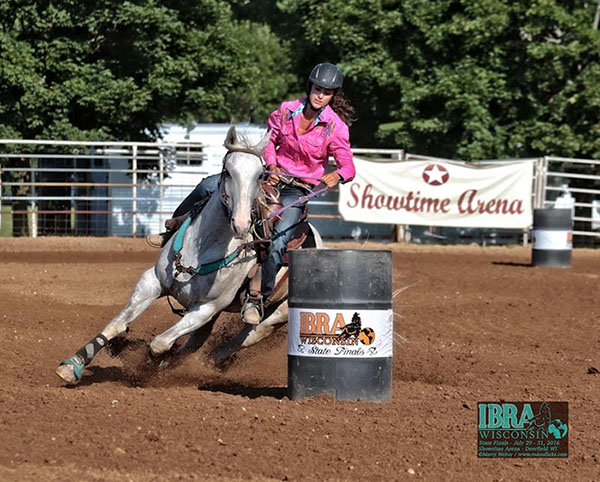 Taeh Horbas, Barrel Racing