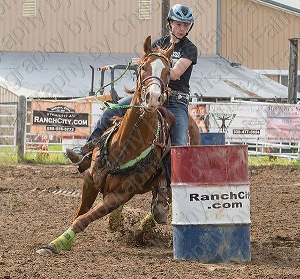 Tatum Franczek, Barrel Racing