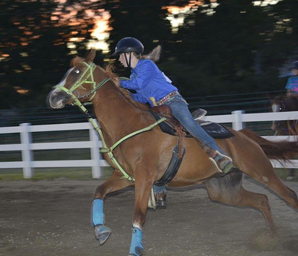 Victoria Whitney, Barrel Racing